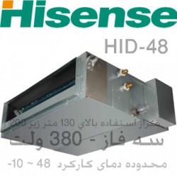 داکت اسپلیت هایسنس کانالی 48000 کم مصرف